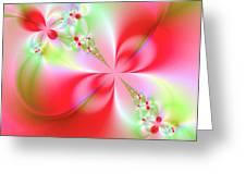 Elegant Beauty Greeting Card
