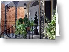 Elegant Entrance Greeting Card