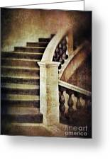 Elegant Staircase Greeting Card