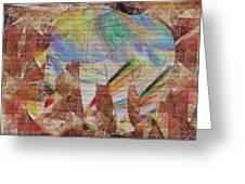 Elephant II Greeting Card