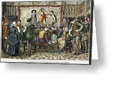 Elizabethan Theatre Greeting Card