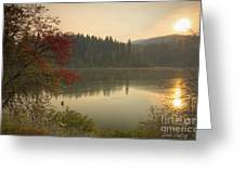 Elk Creek Reservoir Greeting Card