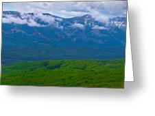 Elk Mountains Panorama Greeting Card