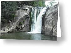 Elk River Falls Greeting Card