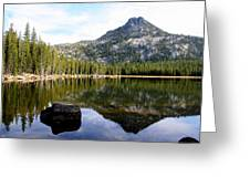 Elkhorn Mountain Reflection Greeting Card