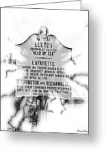 Elkton Head Of Elk  Greeting Card by Lorraine Louwerse