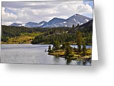 Ellery Lake Greeting Card