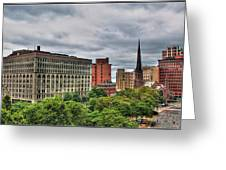 Ellicott Square Building     St. Joseph Cathedral     Prudential Guaranty Building Greeting Card