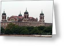 Ellis Island  Greeting Card