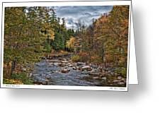 Ellis River Autumn Greeting Card