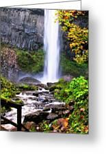 Elowah Falls 2 Greeting Card