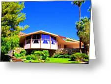 Elvis Honeymoon House Greeting Card