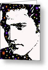 Elvis Living With The Stars Greeting Card