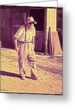 Elwood - Farmer Greeting Card