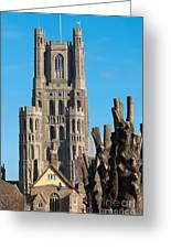 Ely Cathedral Greeting Card