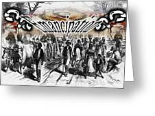 Emancipation Greeting Card by Belinda Threeths