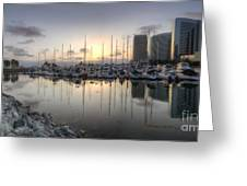 Embarcadero Marina   Greeting Card