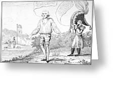Embargo Repeal, 1809 Greeting Card