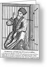 Emelyan Ivanovich Pugachev Greeting Card