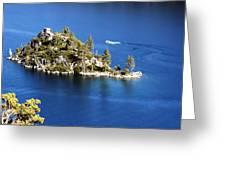Emerald Bay Lake Tahoe Greeting Card