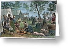 Emigrants: Arkansas, 1874 Greeting Card by Granger