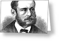 Emil Schumann Greeting Card