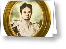 Emily Warren Roebling Greeting Card