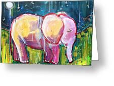 Emily's Elephant 1 Greeting Card