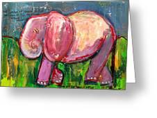 Emily's Elephant 3 Greeting Card