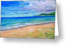 Empire Beach Greeting Card by Lisa Dionne