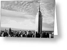 Empire State Building Bw16 Greeting Card