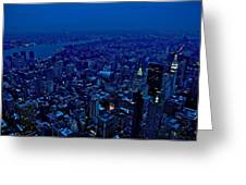 Empire State Of Mind Cold  Greeting Card