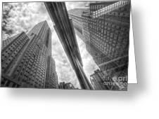 Empire State Reflection Greeting Card