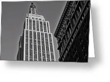 #empirestate #empire #usa #newyorker Greeting Card
