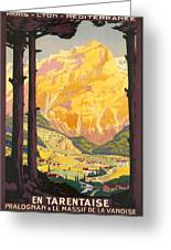 En Tarentaise - Vintage French Travel Greeting Card