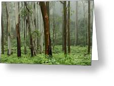 Australia Enchanted Forest Greeting Card