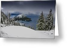 Encroaching Storm Greeting Card