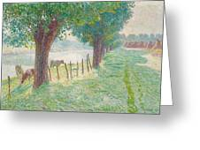 End Of August Greeting Card