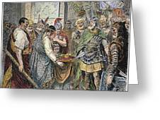 End Of Roman Empire Greeting Card