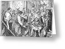 End Of The Roman Empire Greeting Card