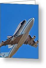 Endeavour's Last Flight Greeting Card