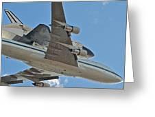 Endeavour's Last Flight Iv Greeting Card
