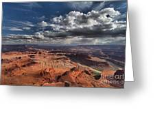 Endless Canyons Greeting Card