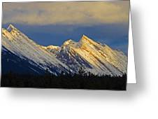 Endless Chain Ridge, Icefields Parkway Greeting Card