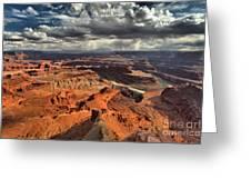 Endless Utah Canyons Greeting Card