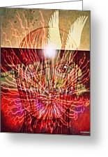 Endogenous Factors Are Bursting Of Great Lessons Greeting Card by Paulo Zerbato