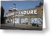 Endure Greeting Card