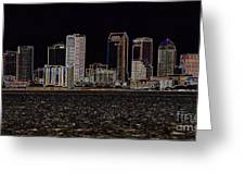 Energized Tampa - Digital Art Greeting Card