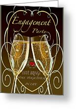 Engagement Party Card Greeting Card