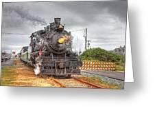 Engine 25 0040 Greeting Card